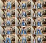 Messy jeans slavery [FullHD, 1080p] [Scat]