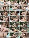 Henessy - Henessy endures outdoor interracial anal (Private) [HD 1280p]
