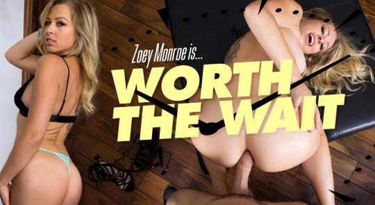 WankzVR: Zoey Monroe - Worth the Wait [VR Porn] (FullHD/1080p/3.26 GB) 21.10.2017