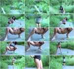 Lilya - Outdoor peeing (FullHD 1080p)