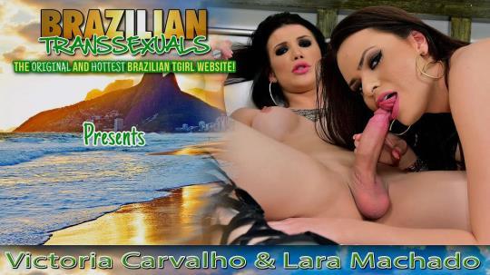 brazilian-transsexuals: Victoria Carvalho & Lara Machado (FullHD/1080p/1.78 GB) 20.10.2017