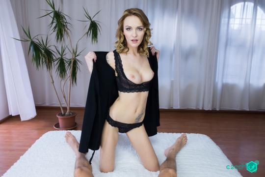CzechVR: Belle Claire - Czech VR 136 - Outdoor Teasing, Indoor Fucking [VR Porn] (2K UHD/1440p/4.38 GB) 23.10.2017