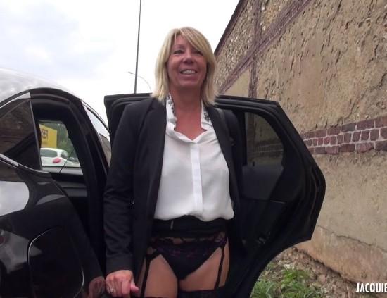 JacquieEtMichelTV - Brigitte [Tout premier black pour Brigitte, 48ans !] (HD 720p)