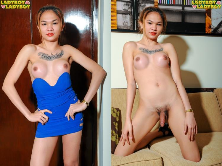 Chelsie Loves To Play On The Couch [LadyBoy-LadyBoy / HD]