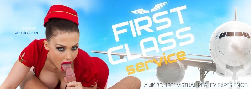 VRbangers.com: Aletta Ocean - First Class Service [HD] (1.61 GB) VR Porn