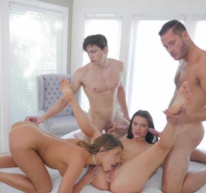 Adriana Chechik, Lana Rhoades- Orgy Party - Our 1000th Scene  [HD 720p] Passion-hd