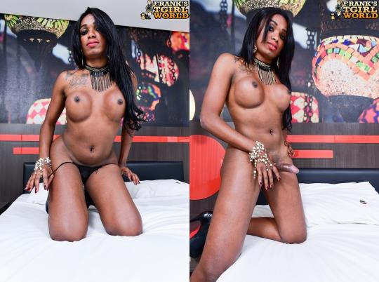 Franks-TGirlWorld: Yasmin Oliveira - Yasmin: Hot Babe With Hot Cock! (HD/720p/557 MB) 19.10.2017