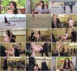 PublicDisgrace, Kink: Young Whore Francesca DiCaprio Shamed, Tied-Up, and Fucked in Public! (SD/540p/770 MB) 07.10.2017