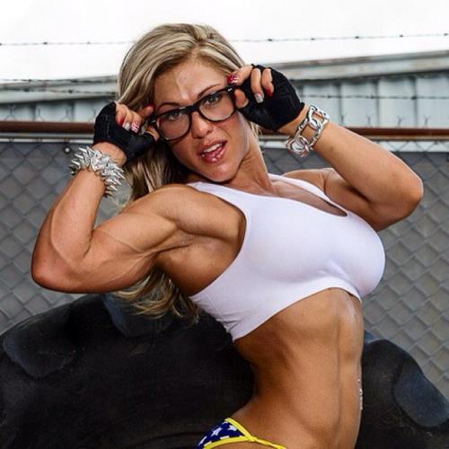 Pro Female Bodybuilder - Francesca Petitjean (SiteRip/Francesca Petitjean/SD480p)