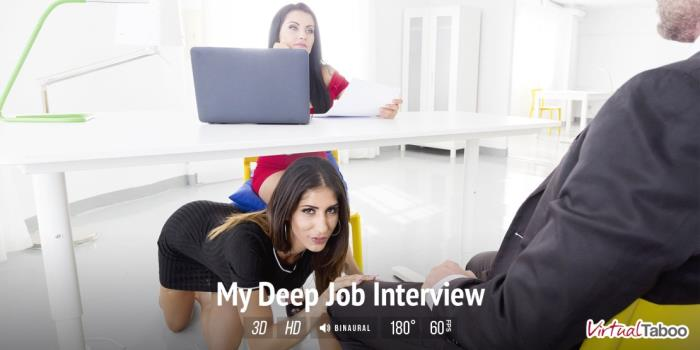 Bianka Blue & Raquel Martin - My Deep Job Interview / 21-10-2017 (VirtualTaboo) [3D/2K UHD/1500p/MP4/4.08 GB] by XnotX