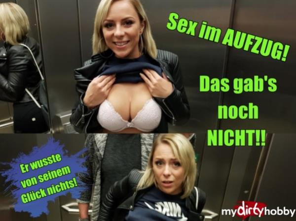 MyDirtyHobby/MDH: - LilliVanilli - - Ein Traum Nein, Realitat - Sex im Aufzug und fast erwischt - A dream No, reality !! SEX IN LIFT and almost caught! (2017) FullHD - 1080p