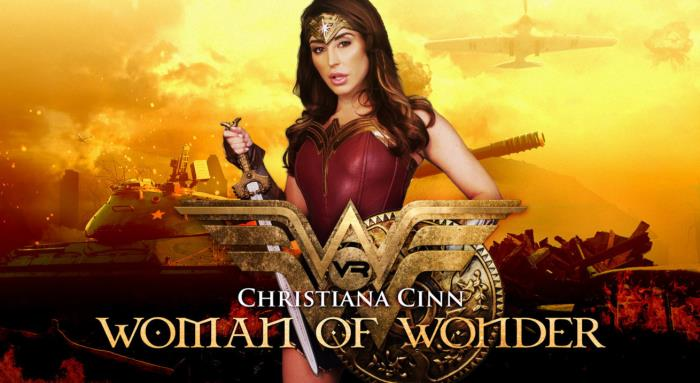 WankzVR.com - Christiana Cinn - Woman of Wonder [3D, VR, FullHD, 1080p]