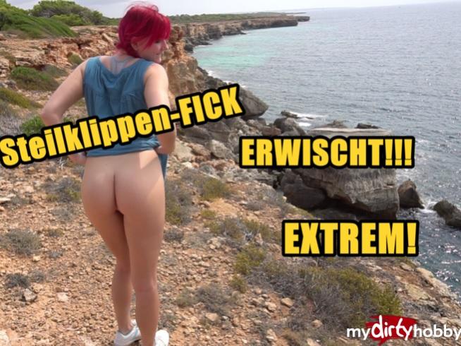 MarryFucks- Steilklippen-Fick - Erwischt von Fremden - Cliffs fuck! Caught by strangers - [FullHD 1080p] MyDirtyHobby/MDH