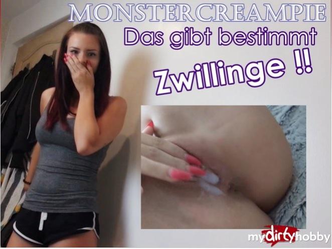 MyDirtyHobby/MDH:  FariBanx- Monstercreampie  Das gibt bestimmt Zwillinge  Monstercreampie  This is definitely TWINS  [2017 HD 720p 92.19 Mb]