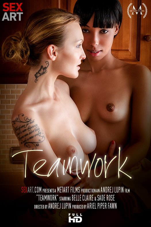 SexArt: Belle Claire & Sade Rose - Teamwork (SD/360p/209 MB) 08.10.2017