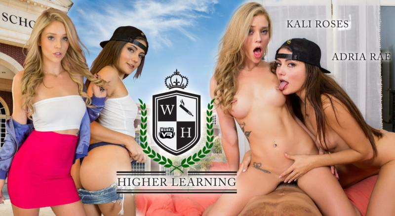 WankzVR.com: Adria Rae & Kali Roses - Higher Learning [2K UHD] (9.21 GB) VR Porn