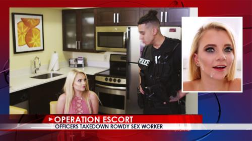Riley Star - Officers Takedown Rowdy Sex Worker (10.10.2017/OperationEscort.com/SD/480p)