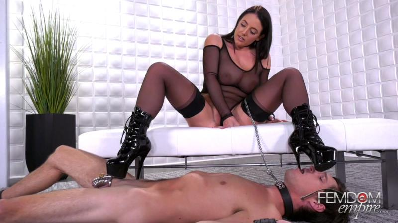 FemdomEmpire.com: Angela White - Angela's Boot Bitch [FullHD] (923 MB)