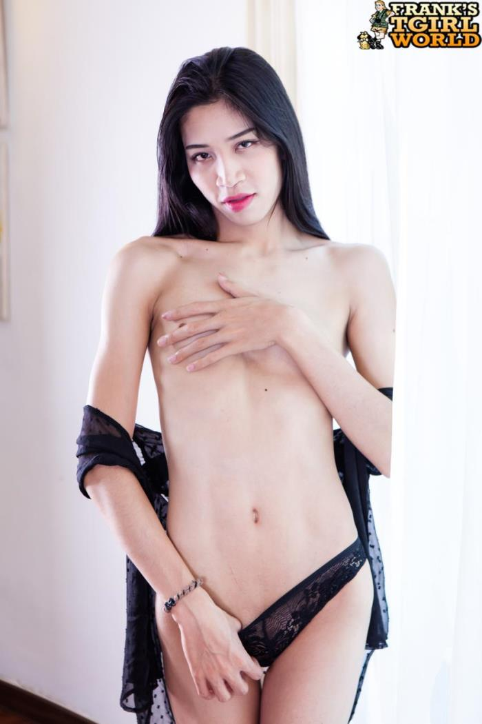 Franks-tgirlworld: Hana - Hana Shows Off Her Cock!  (HD/720p/718.53 Mb)