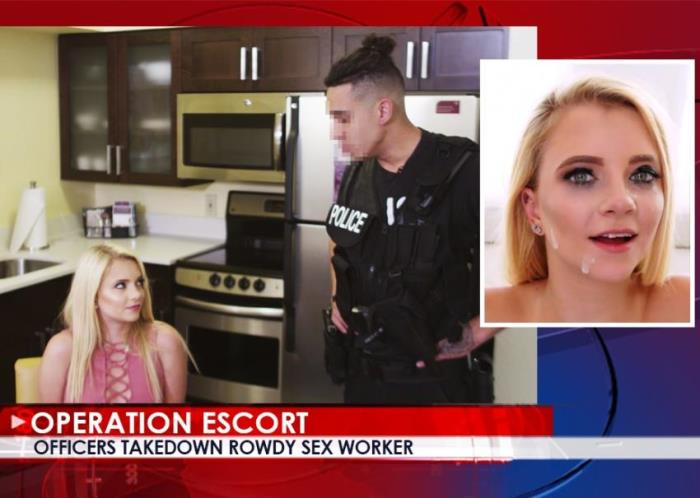Riley Star - Officers Takedown Rowdy Sex Worker (2017 / OperationEscort/FetishNetwork) - [FullHD / 1080p/ 1.71 Gb]