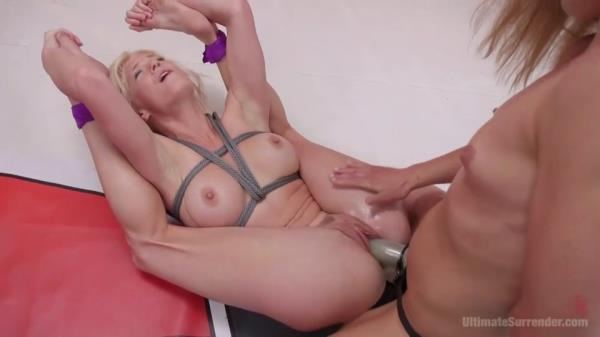 Flexible Blond Yogini get bent until she's nearly Broken by Muscles [UltimateSurrender.com / Kink.com] [SD] [541 MB]