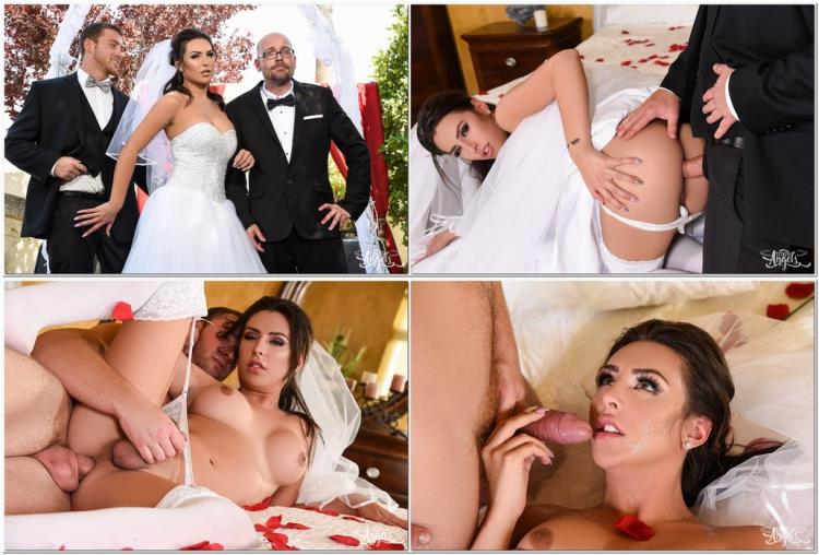 Chanel Santini & Connor Maguire / Here Cums the Bride [TransAngels / FullHD]
