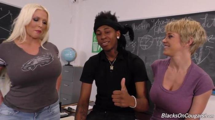 BlacksOnCougars.com / DogFartNetwork.com - Alura Jenson, Dee Williams - BTS [SD, 432p]