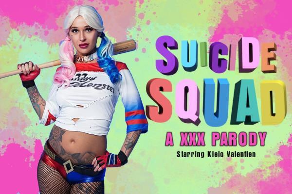 vrcosplayx - Kleio Valentien - Suicide squad: Harley Quinn XXX PARODY [3D, 2K UHD, 1440p]