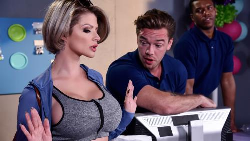 Joslyn James - Let Me Fuck Your Manager (18.10.2017/MilfsLikeItBig.com / Brazzers.com/SD/480p)