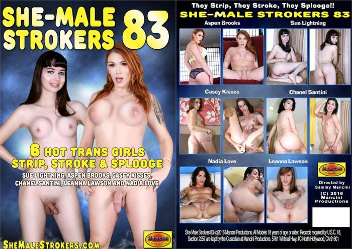 Mancini Productions - She-Male Strokers 83 [SD, 540p]