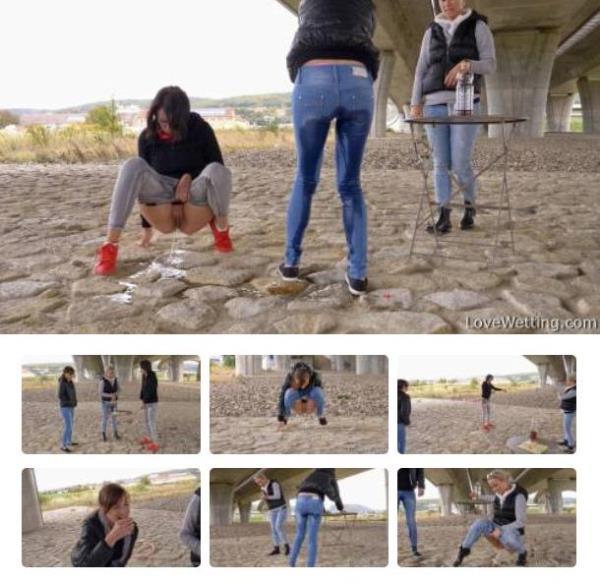 Gabi Mavali and Laura Nellis - Piss game [FullHD 1080p]