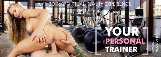 VRbangers: Nicole Aniston - Your Personal Trainer [VR Porn] (HD/960p/1.80 GB) 22.10.2017