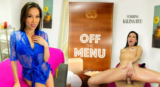 WankzVR: Kalina Ryu - Off The Menu [VR Porn] (FullHD/1080p/3.33 GB) 21.10.2017