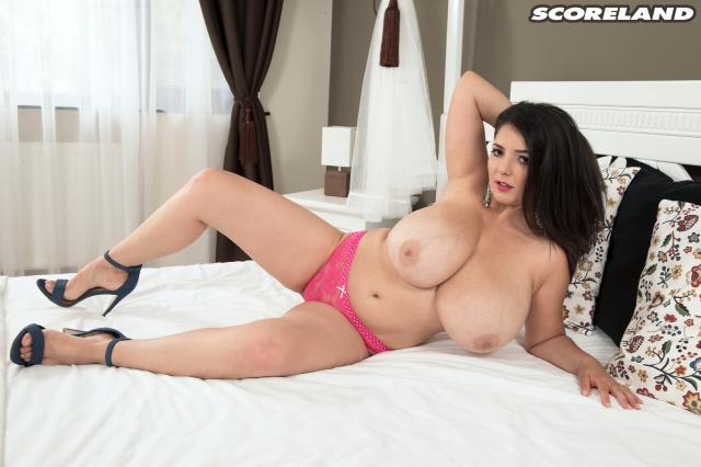 PornMegaLoad.com/Scoreland.com - Lara Jones - Breast Blessed With H - Cups [SD, 480p]