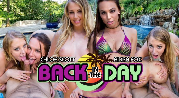 WankzVR.com - Aidra Fox & Chloe Scott - Back In The Day [3D, VR, 2K UHD, 1600p]