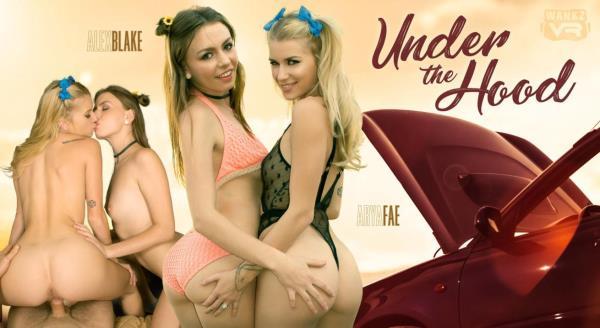 Alex Blake & Arya Fae - Under the Hood - WankzVR.com (2K UHD, 1600p) [3D VR]