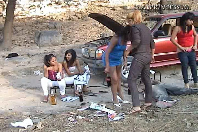 Gabi, Maira, Astrid, Nicole, Judi - Abused by Scatprincess SC Part 1 (Austria, Group Scat) scatprincess.de [DVDRip]