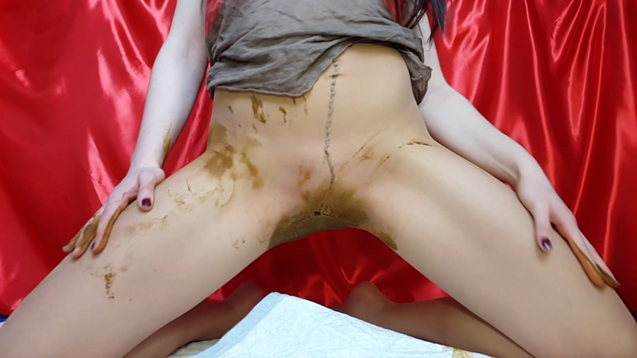 Anna Coprofield - Dirty Spoiled Tights (Dirty Anal, Solo Scat) [FullHD 1080p] [Extreme Scat]