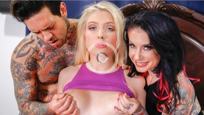 Giselle Palmer, Joanna Angel - Babysitter Auditions (03.08.2017) [BurningAngel / SD]