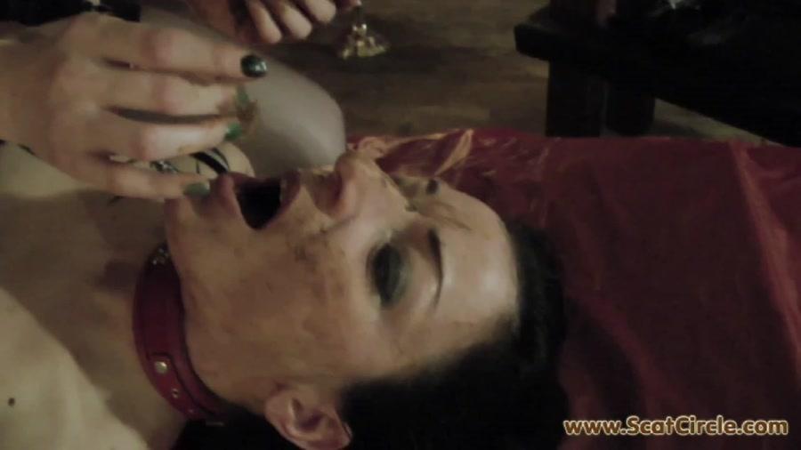 ScatCircle: Rieke Extreme (Scat / Fetish) Mia Gives Rieke A Good Treatment [FullHD 1080p]