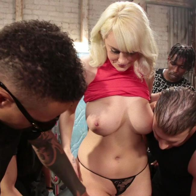 Kink/BoundGangBangs - Maxim Law - Maxim Law, Blonde Girl Next Door, Bound and Gangbanged by Horny Movers - [HD - 720p]