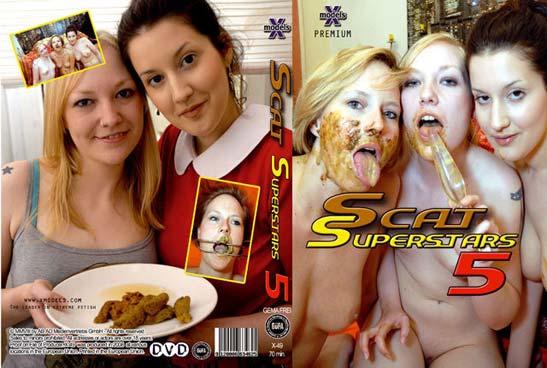 X-Models: Louise Hunter, Susan, Tiffany, Maisy, Kira - Scat Superstars 5 [DVDRip] Lesbians, Shitting