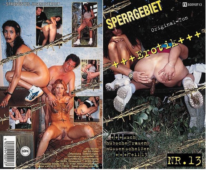 Amateur Girl - Sperrgebiet Erotik No.13 (Scatology, Scat Sex) SG-Video [DVDRip]