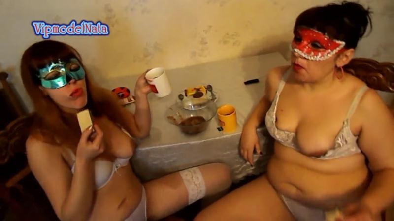 ModelNatalya94 / Vipmodel Nata - Breakfast biscuits with jam shit (Scat / Lesbian Scat) ScatShop [FullHD 1080p]
