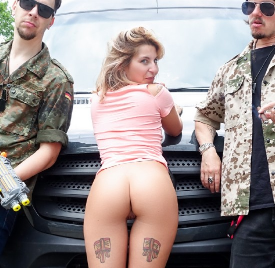 BumsBus/PornDoePremium: Naughty tattooed chick Kattie Hill enjoys hardcore pounding in the sex bus - (Kattie Hill) [HD 720p]