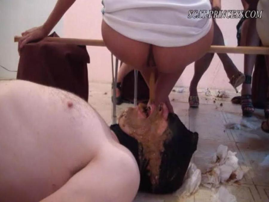 ScatGirls - Toiletslaves know what to do (Austria, Femdom Scat) - Scatprincess.de [DVDRip]