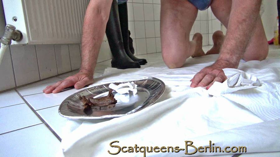 Scat Cats - The Worthless Toilet Pig P1 - Scatqueens-Berlin - SD