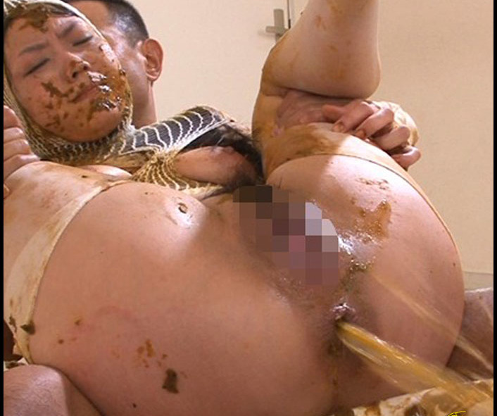 Bank Employee - Shit-Covered Clenched Fist FUCK Maki (Big Pile, Dirty, Scat)  [FullHD 1080p]