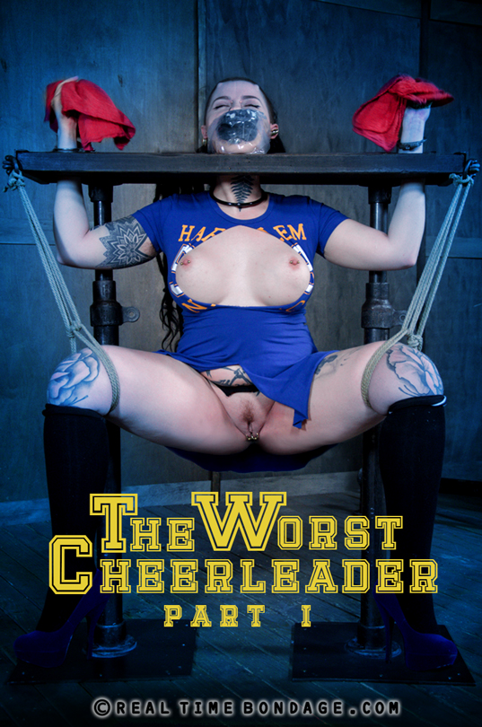 Luna LaVey - The Worst Cheerleader: Part 1 (RealTimeBondage) HD 720p