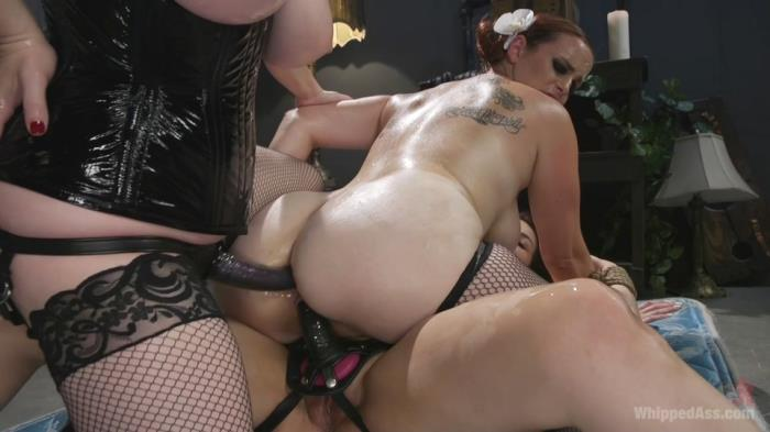Aiden Starr, Bella Rossi & Penelope Reed - Dominating Dreams: First Time Kink Model is Tag - Teamed by Horny Lesbos (WhippedAss, Kink) HD 720p